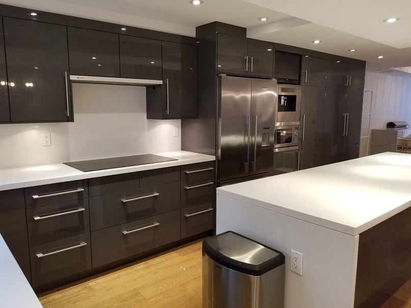 Before - High End Yaletown Kitchen Renovation