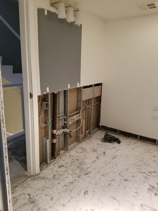 plumbing Before - High End Finishes Yaletown Condo - Bathroom Renovation
