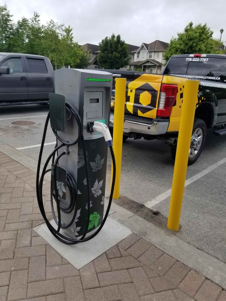 TD Bank Electric car charger